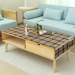 Linen Towel Cloth,Pastoral Small Fresh Table Mat Coffee Tabl