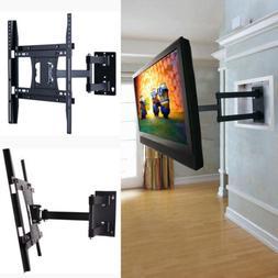 Long Arm Articulating Corner Tilt  Swivel TV Wall Mount Brac