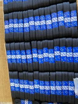Lot Of 50 pair Mask Strings Or Shoe Strings Flat Black 54 In