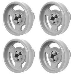 Haier Lower Basket Wheels & Axles DW60CDW2 HDW100WHT Dishwas