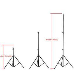 """VILTROX LS-190 light stand 86""""/7 Feet 220CM Photography Ligh"""