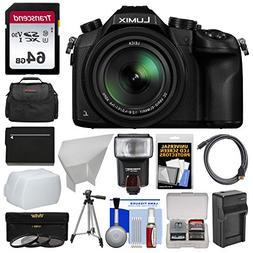 Panasonic Lumix DMC-FZ1000 4K QFHD Wi-Fi Digital Camera with