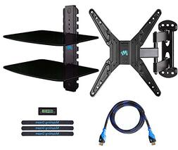 Mounting Dream MD2413-KT Full Motion TV Wall Mount and DVD F
