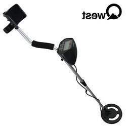 "QWEST 50"" METAL DETECTOR LCD DISPLAY DEEP TREASURE HUNTER WA"