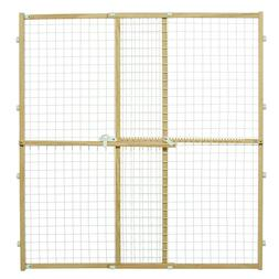 Midwest Wire Mesh Pet Safety Gate, 44 Inches Tall & Expands