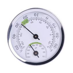 Mini Household Thermometer Alloy Aluminum <font><b>Wall</b><