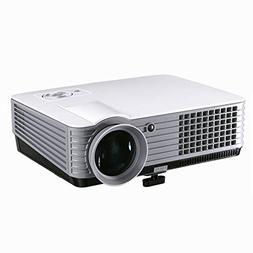U|R Mini Portable Projector Home Projector, led 1080P HD Pro