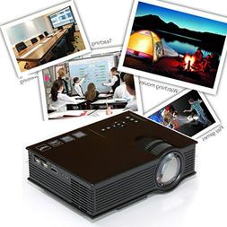ODGear Mini Projector,UC40+3D 1080p Portable LED Projector w