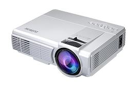 Mini Projector 1200 Lumens Video projector LCD Portable Led