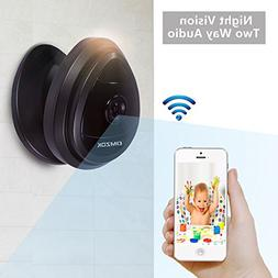 DMZOK Mini WiFi Camera, Wireless Security IP Camera, Nanny C