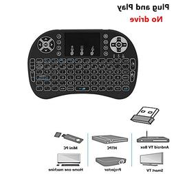 Mini Wireless Keyboard with Backlit,ProCIV 2.4G Mini Keyboar