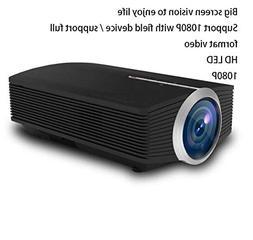 BAL Miniature Mini Projector, Focusing Lens, Portable 1080p