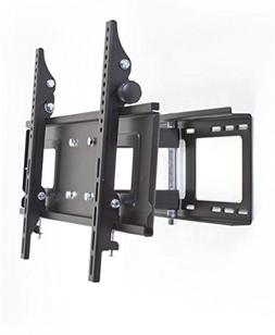 Displays2go MNTW771 Flat Wall Mount with Articulating Arm fo