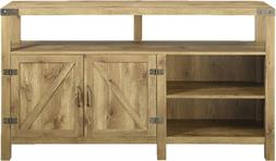 Modern Farmhouse Design TV Stand Support up to 60-inch TVs i