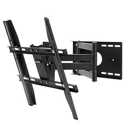Henxlco Full Motion Articulating Tilt Swivel TV Wall Mount B