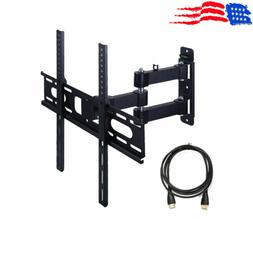 Full Motion TV Wall Mount Bracket Tilt Swivel LCD LED 20 22