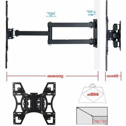 Full Motion TV Wall Mount Tilt Swivel 40 42 46 50 55 65 inch
