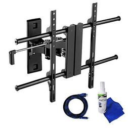 Ready Set Mount Full Motion TV Wall Mount w/ 8 ft HDMI cable