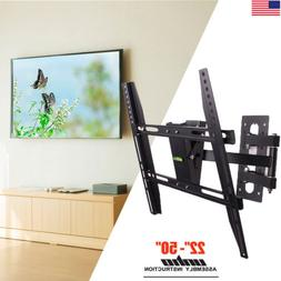 Moveable Wall Mount TV Bracket Hanger Holder Universal For 3
