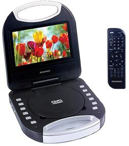 Magnavox MTFT750-BL Blue 7 Inch Portable DVD Player With Rem