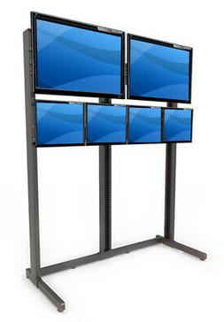 Best Mounting Multi-Monitor Floor Stand Mount for LCD/Plasma