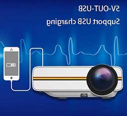 BAL Multimedia Projector, Portable Mini Projector, Compatibl