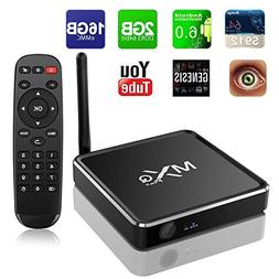 Refresh Your Life MXQ Android 6.0 Marshmallow 4K R12 TV Box