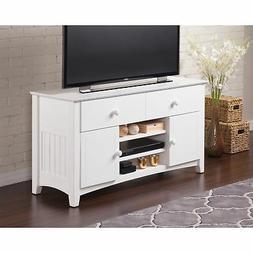 Atlantic Nantucket White 50-inch 2-drawer Adjustable-shelf E