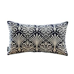 HWY 50 Navy Blue Throw Pillows Covers for Couch Sofa Bed 12