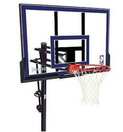"Spalding NBA In-Ground Basketball System - 50"" Acrylic Backb"