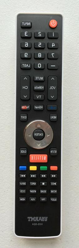 NEW Hisense Replacement Remote Control H