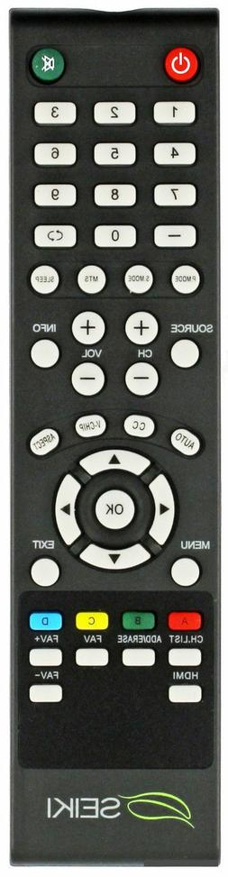 "NEW ORIGINAL Seiki V2 REMOTE CONTROL FOR SEIK TV 19""---65"""