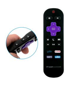 New Remote Control NS-RCRUS-16 for Insignia Roku Ready TV NS