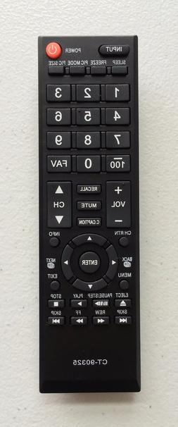 """New USBRMT Remote CT-90325 for Toshiba 19""""~65"""" LCD LED TV Fo"""