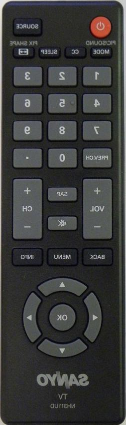 SANYO NH311UD TV Remote Control - BRAND NEW Original SANYO N