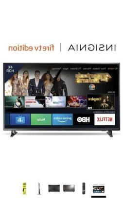 Insignia NS-55DF710NA19 55 Inch 4k ULTRA HD SMART LES TV W/