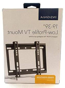 """Insignia NS-HTVMFAB Low Profile 19"""" - 39"""" TV Wall Mount - Bl"""