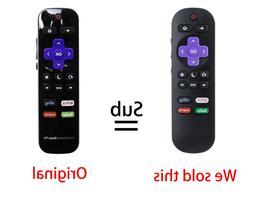NS-RCRUS-17 Replace Remote for Insignia Roku TV Sling Netfli