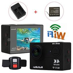 NuoYaRen NYR-H9 Mini 4K WIFI Sports Action Camera Ultra HD W