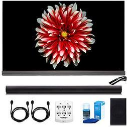 """LG OLED65G7P 65"""" Signature OLED 4K HDR Smart TV w/LGSH7B 360"""