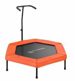 Upper Bounce Orange 50-inch Hexagonal Fitness Adjustable Han