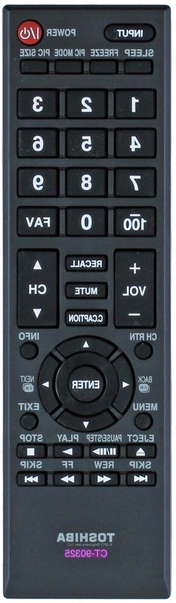 Original Toshiba TV Remote Control CT-90325 32C100U2 32C100U