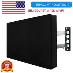 Outdoor Flat Screen TV Weatherproof Cover - Fits 30-58 INCH