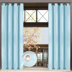Outdoor Window Curtain Panel 50x96Inch for Porch Patio Gromm