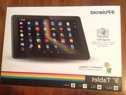 """Polaroid P902BK Quad-Core 9"""" Tablet With Android 5.1 Lollipo"""