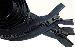 "Sport Parka Dual Separating Zipper 50"" YKK Vislon #10 Molded"
