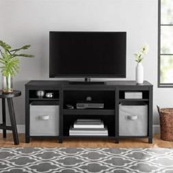 "Mainstay.. Parsons Cubby TV Stand Holds Up to 50"" TV, Black"