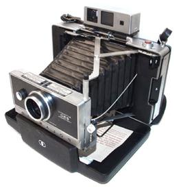 Polaroid Automatic 250 Land Camera Zeiss Ikon Viewfinder Ins