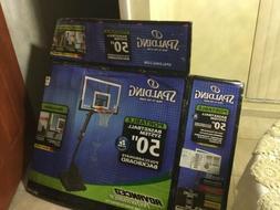 portable basketball system 50 inch polycarbonate blackboard