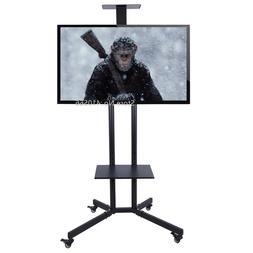 Portable Flat Screen TV <font><b>Stand</b></font> Movable Pl